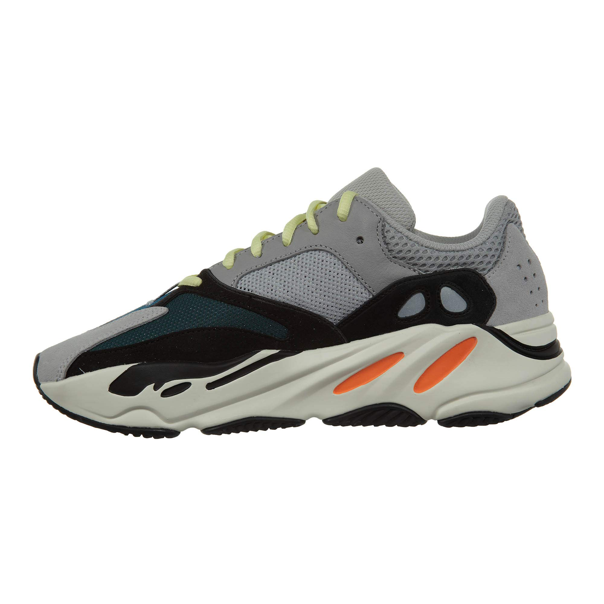 """adidas Mens Yeezy Boost 700"""" Wave Runner Solid Grey/Chalk White/Core Black"""