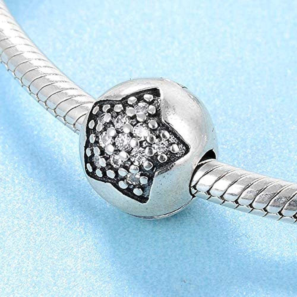 Women's Austin Mall Bead Charms 925 Sterling Star Silver Rou Sales of SALE items from new works Charm Sparkling