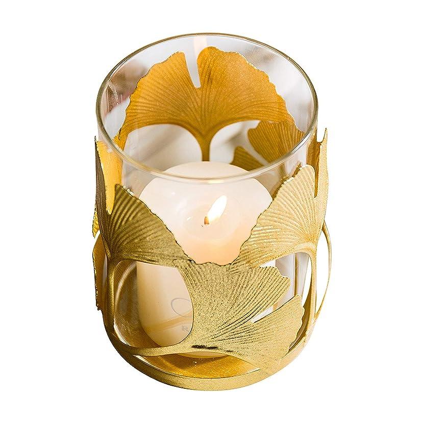 アトラスこしょう贅沢GAONAN-URG 結婚式の装飾パーティーや日常のホームデコレーションのための取り外し可能なガラスと金属のキャンドルホルダー装飾キャンドルホルダー、 GAONAN-URG