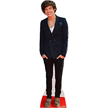 STAR CUTOUTS CS573 Lifesize Cutout of Harry Styles 166cm Tall