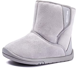 BMCiTYBM Girls Boys Snow Boots Warm Winter Fur Lined Baby Shoes (Infant/Toddler/Little Kid)