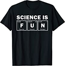 Science Is Fun Periodic Of Elements Word Science Gift T-Shirt