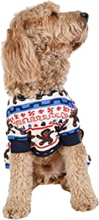 gingerbread dog sweater