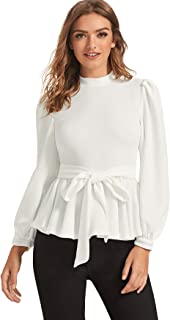 Best wrap ruffle shirt Reviews