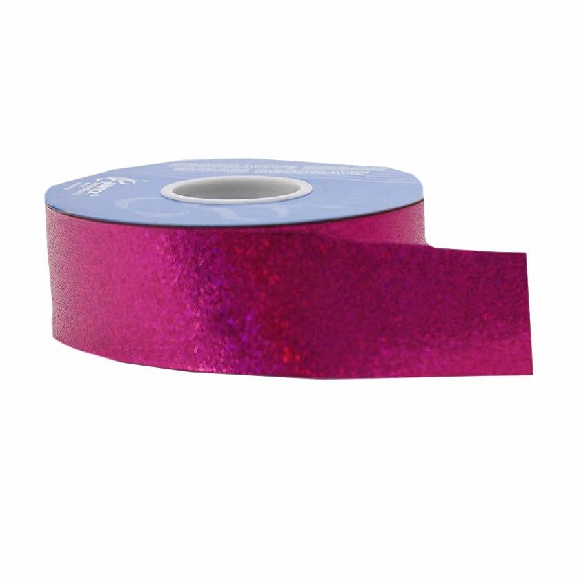Berwick Sparkalene Craft Ribbon, 1-1/2-Inch by 50-Yard Spool, Magenta