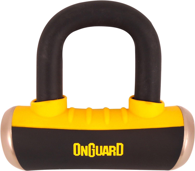 OnGuard Boxer X4 Disc Lock (Black, 58 X 56Mm)