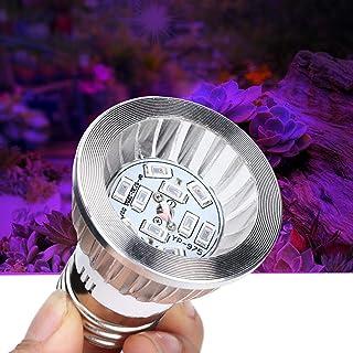 Grow Lamp Bulb, Indoor Grow Light Bulb, 60000H Full Spectrum Plant Lamp Part for Greenhouse Planting Supplies Succulent Pl...