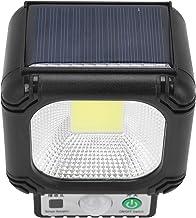 مصباح جداري بالطاقة الشمسية، مصباح جداري تعريفي للجسم عالي السطوع، معدات إضاءة 30COB للحدائق والسلالم والباحات والممرات