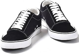 [シュベック] スニーカー メンズ レディース ローカット カジュアルシューズ ホワイトソール キャンパススニーカー 紳士靴 婦人靴 【SPS028-SET 】