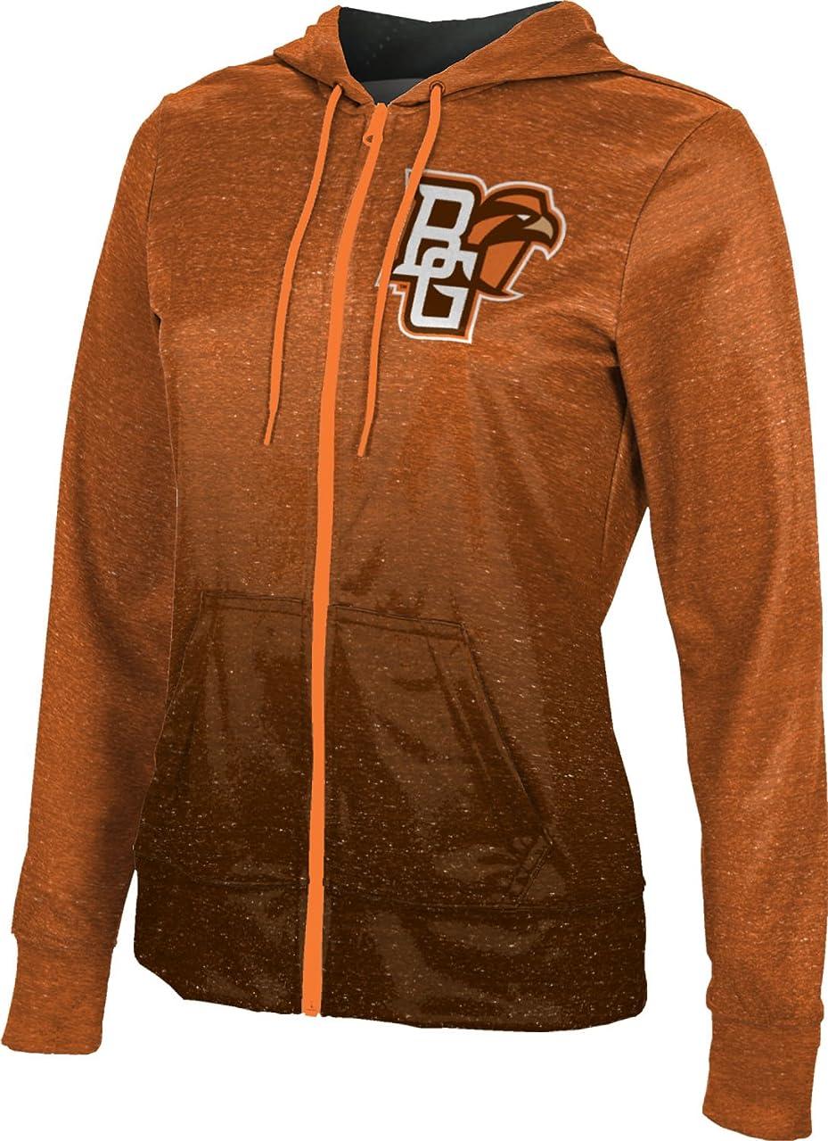 ProSphere Bowling Green State University Girls' Zipper Hoodie, School Spirit Sweatshirt (Gradient)