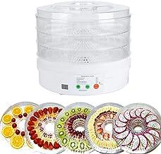 01 Machine de séchage des Aliments, avec déshydrateur d'aliments à Trou de Dissipation de Chaleur, 350 W pour Fruits de Cu...
