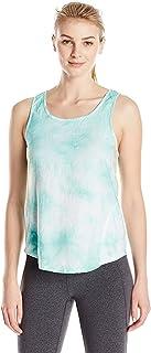 Calvin Klein Women's Washed Linen Tie Dye Tank