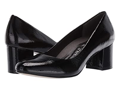 Walking Cradles Jessica (Black Tumbled Patent) Women