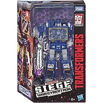 Transformers GUERRA SU Cybertron D/'ASSEDIO VOYAGER CLASSE Soundwave-NUOVO
