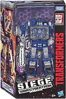 Transformers E3545ES1 TRA GEN WFC Voyager Soundwave, Multicolour