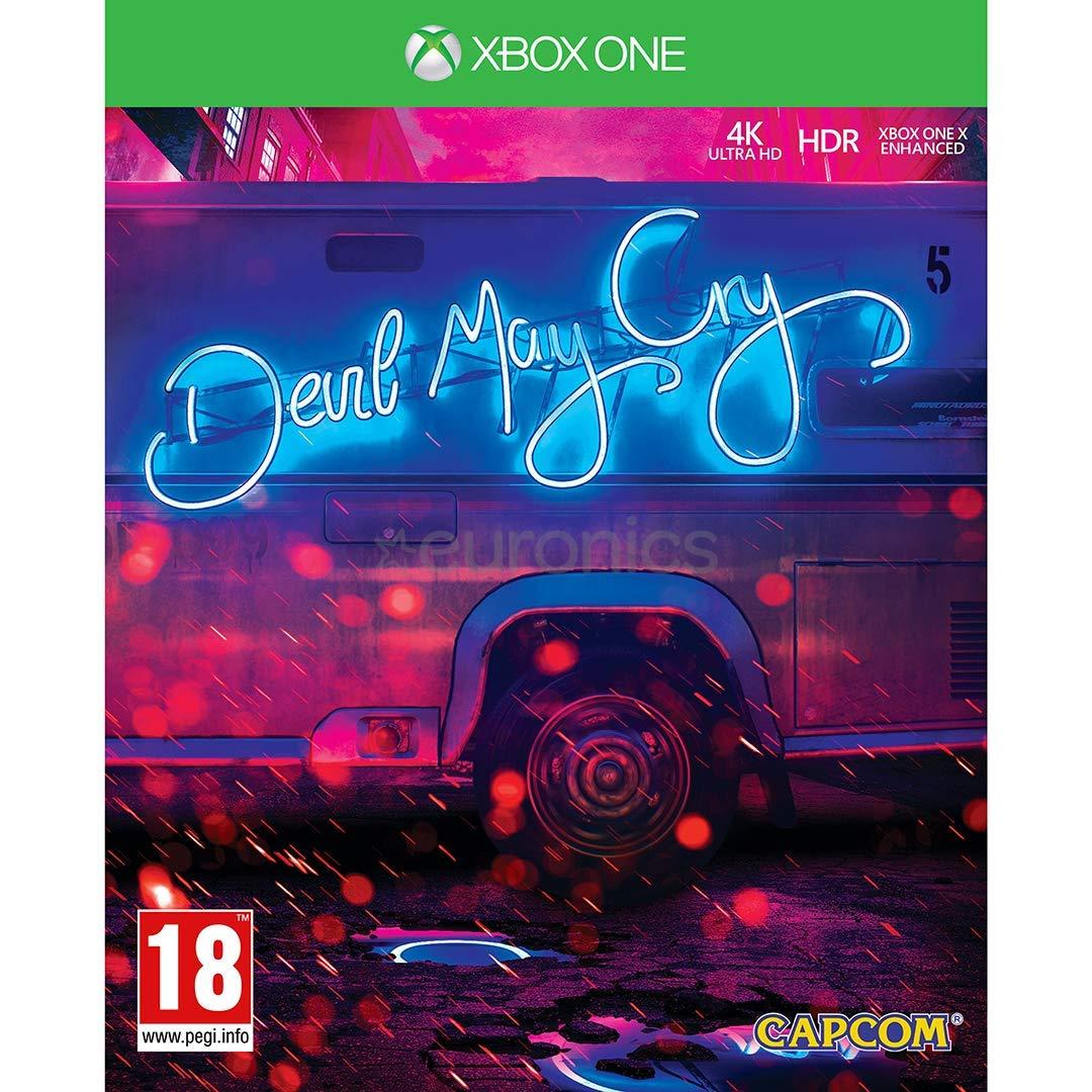 Xbox One Devil May Cry 5 Deluxe Edition Steelbook: Amazon.es: Videojuegos