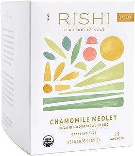 Rishi Tea Herbal Tea | Immune Support, Stress-Reducer, Organic, Caffeine-Free, Sweet | Sachet Bags, 0.95 oz (Pack of 1) (C...