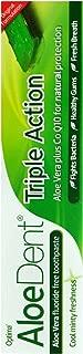 Aloe Dent Triple Action Aloe Vera Fluoride Free Toothpaste 100ml