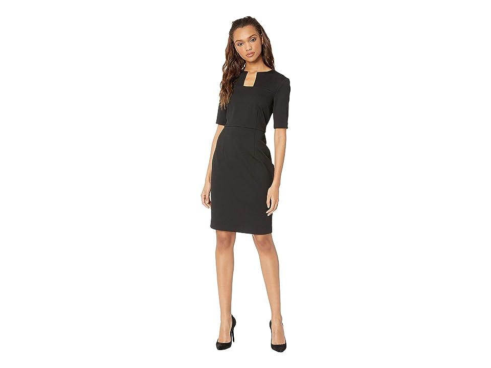 Trina Turk Scotch Dress (Black) Women
