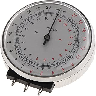 High Quality Metal Professional Ophthalmic Lens Clock Base Curve Optician Lens Curvature Measure Gauge with Box Storage Case for Eyeglasses Stores