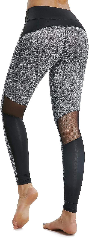 BeautyShape Workout Tummy Control Yoga Leggings  High Waist Running Tights Athletic Pants
