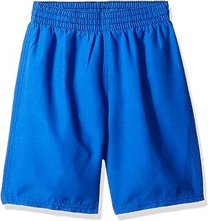 Boys' Big Swoosh Solid Lap Volley Short Swim Trunk