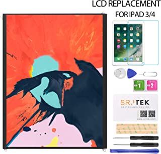 Srjtek LCD Display Screen Replacement Parts for IPad 3 IPad 4 Generation (9.7