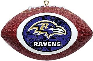 NFL Baltimore Ravens Mini Replica Football Ornament