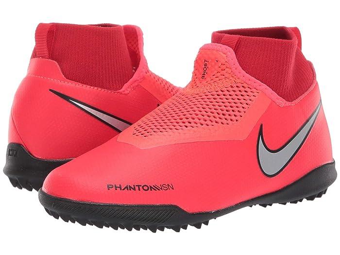 Nike Kids JR Phantom Vision Academy DF TF Soccer (Little Kid/Big Kid)