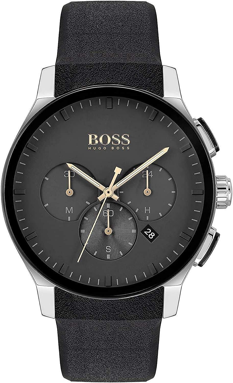 Hugo BOSS Reloj para de Cuarzo con Correa en Silicona 1513759