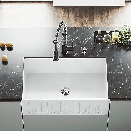 Porcelain Kitchen Sinks: Amazon.com