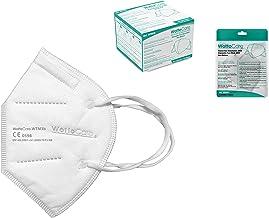 Mascarilla FFP2 CE 0598 WottoCare, Mascarilla de Protección Personal. 5 capas. Mascara KN95 Alta Eficiencia Filtración, Ca...