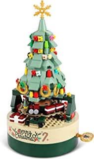 AOKESI Christmas Tree Building Kits for Kids - DIY Building Block Music Box, Educational Learning Science Building for 8+ ...