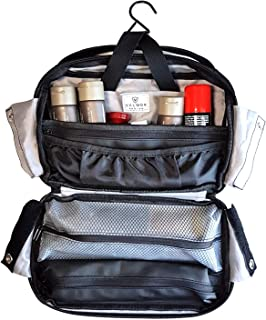 Valmor premium quality, durable, versatile toiletry bag that lets you organize & pack your toiletries while staying compact.