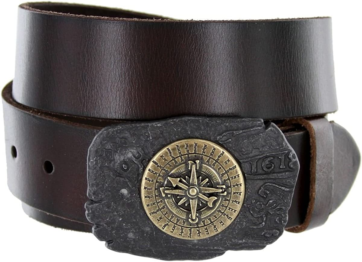 New color Antique Brass Rustic Pirate Compass Luxury goods Nautical Belt Sailor