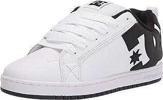DC Herren Court Graffik Casual Skate Shoe, Weiß/Schwarz, 54 EU