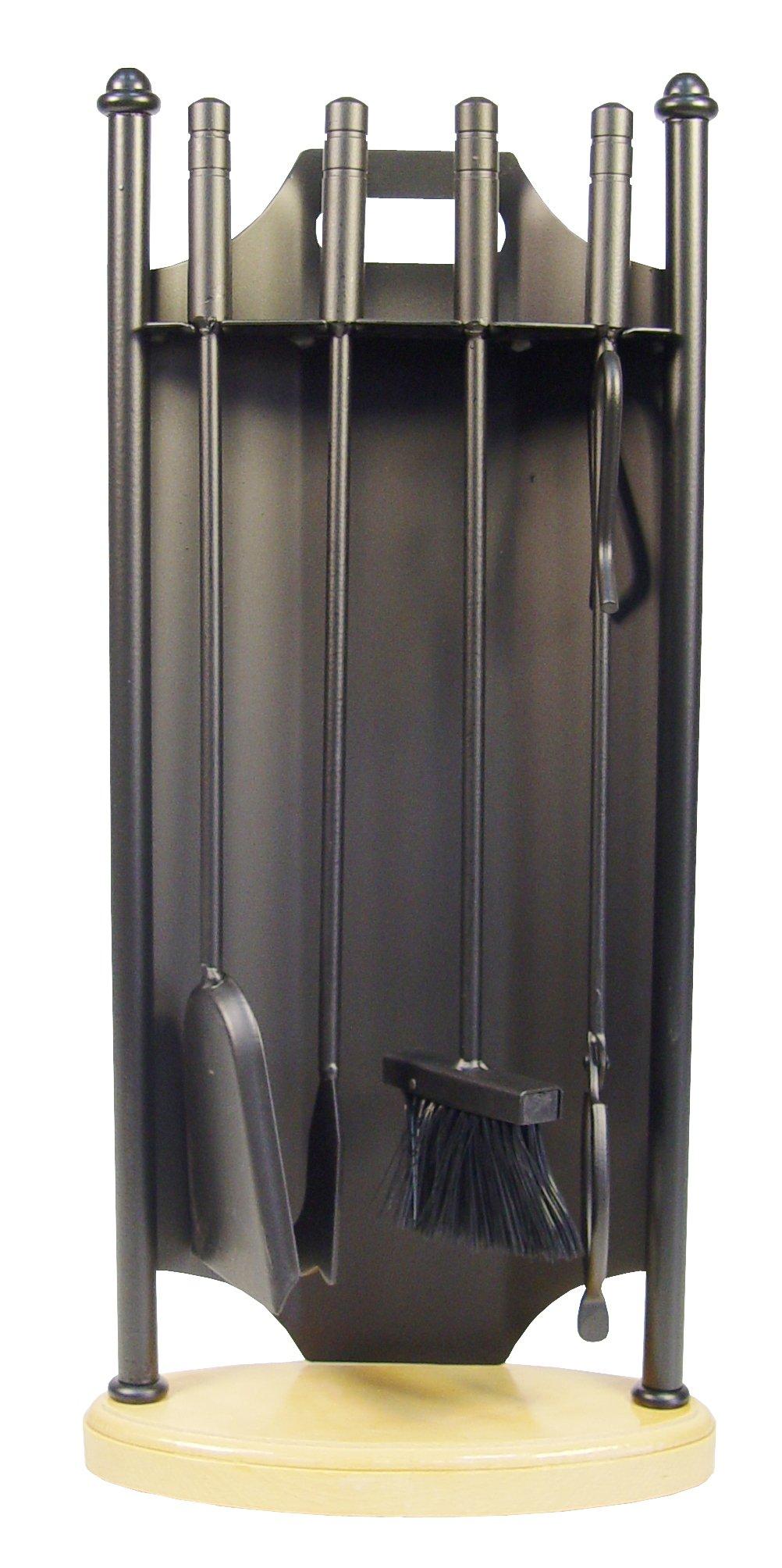 Imex El Zorro 12025-F Pack de 4 piezas para chimenea ovalada (forja): Amazon.es: Bricolaje y herramientas