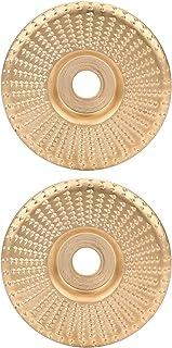 Slipskiva, 100 mm sliphjul, slipskiva, 2 st vinkelslip sliphjul, lätt att använda för trä och icke-metall Högeffektiva vin...