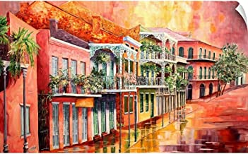 CANVAS ON DEMAND Spring in The Vieux Carre Wall Peel Art Print, 30