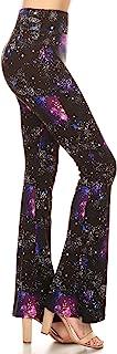 Leggings Depot Women's Ultra Soft Popular Printed Stylish Palazzo Pants BAT3