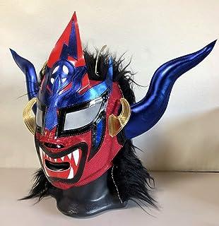 獣神サンダー・ライガー セミプロマスク 青タイプ メキシコ製 プロレス ルチャリブレ [並行輸入品]