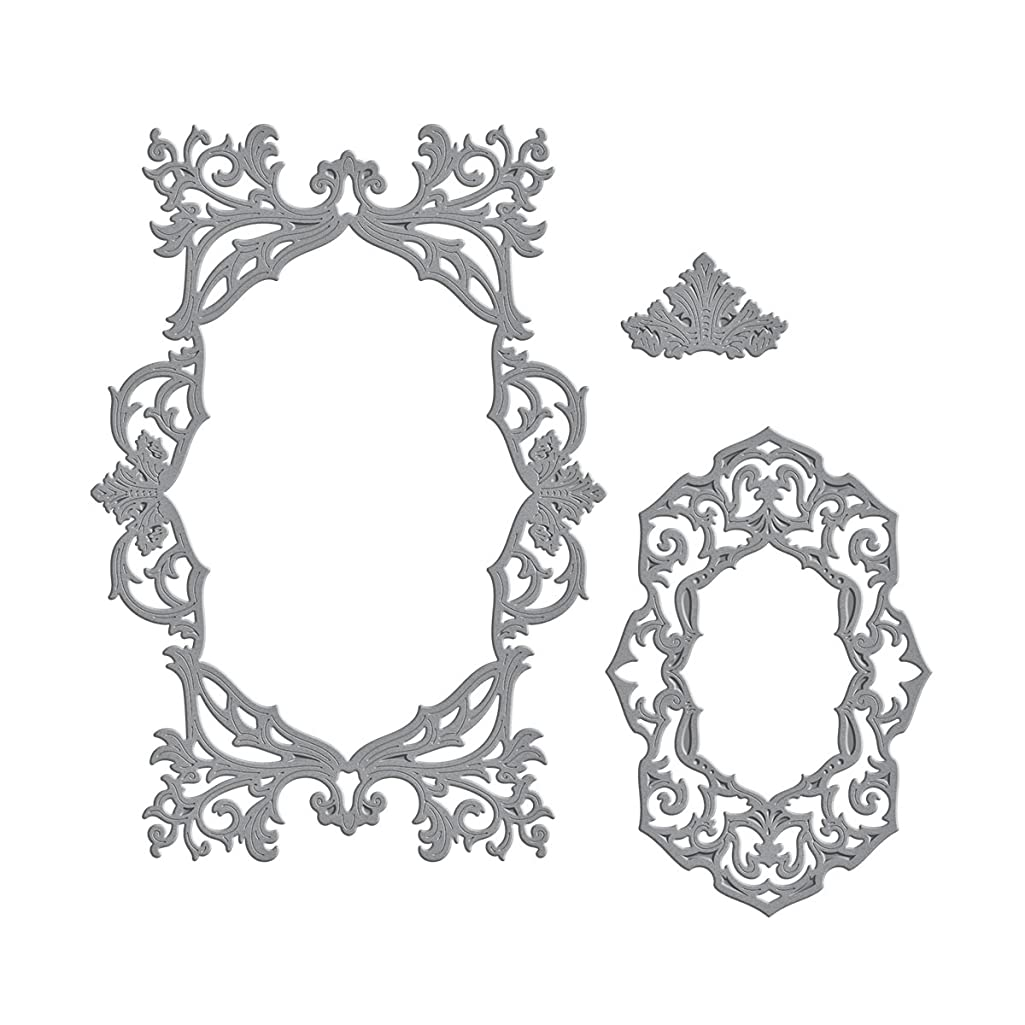 Spellbinders Labels 45 Decorative Accent Etched/Wafer Thin Dies
