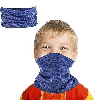 Kids Neck Gaiter Bandana Face Cover Summer for Dust...