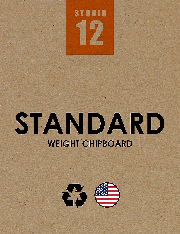 Studio 12 Chipboard Sheets. Standard Weight. Selling rankings Natural Brown Max 45% OFF Kraft