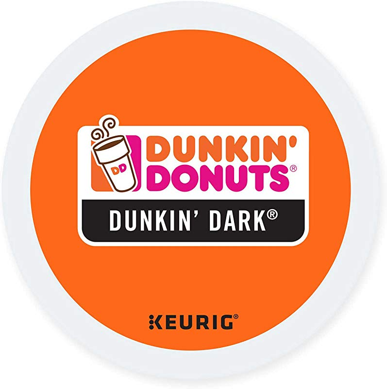 Dunkin Donuts K Cups Dark Roast 24 Kcups For Use In Keurig Coffee Brewers