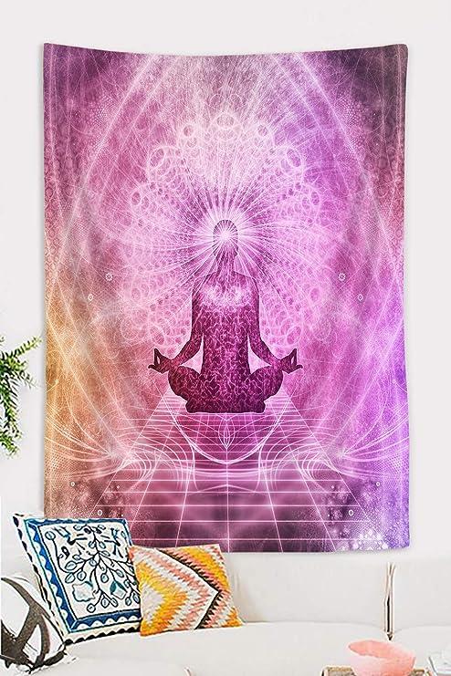 Details about  /Wall Hanging Decorative Cloth Buddha Meditation Goa Hippie Approx 210 X 230 CM