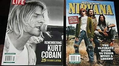 Two Nirvana Kurt Cobain Collector Magazines 2019 Life & Rolling Stone