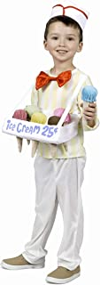 Kids Ice Cream Cone Salesman Costume