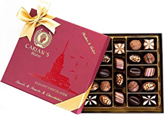 Carian's Bistro Chocolatier Special Box Luxury Selection - Gourmet Truffles - Natural and Healthy Snacks Pack for Adults &...
