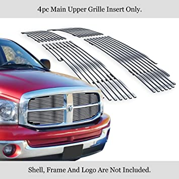 Automotive Grille Inserts APS Compatible with 2006-2008 Dodge Ram ...